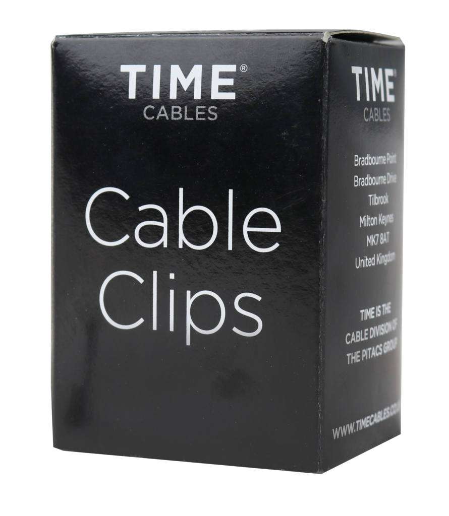 TIME Cable Clips CCR6-7W100